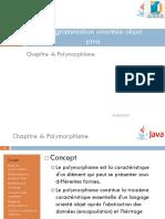 Chap4 Polymorphisme