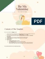 Be My Valentine by Slidesgo.pptx