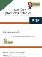 Factorización y productos notables diana robles.pptx