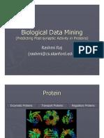 Biological Data Mining