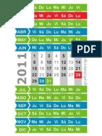 Calendar 2011 - (www.grafishdesign.it)