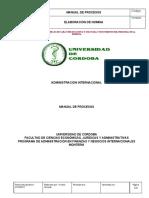 Manual de procesos-admon