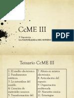 CcME III  3ª