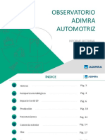 Informe Automotriz Marzo 2020 - Observatorio Adimra Automotriz