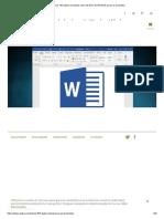 Los 184 atajos de teclado clave de Word en Windows para ser productivo