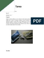 Analysis aspartame y componentes