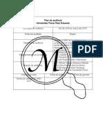 Plan de auditoria, criterios 6 y 7