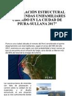 MODELACIÓN ESTRUCTURAL DE VIVIENDAS UNIFAMILIARES UBICADO EN
