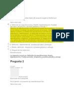 EVALUACION U1-Gerencia de Proyectos
