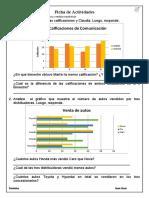 Ficha de Actividades Estadística 29 de mayo