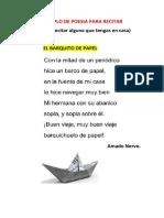 EJEMPLO DE POESIA PARA RECITAR.