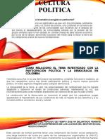 CULTURA POLITICA SECTOR CAMPESINO