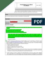 PROCEDIMIENTO ACTA MEDICA COLOMBIANA