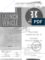 Launch Vehicle No. 8 Flight Evaluation
