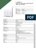 100kW 208V 3PH Grid Tie Inverter