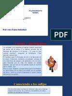 TEMA 7 - 5TO  SECUNDARI RAZ VERBAL - SUFIJOS  GRIEGOS Y LATINOS - II .pptx