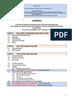 PLC110110 Agenda