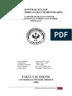 Kontrak dan RPS Pemesinan CNC  Lanjut Revisi 1