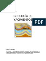Manual Geología de yacimientos