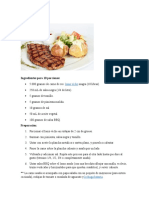 documento con todas las recetas