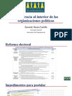 DEMOCRACIA INTERNA-Gerardo Távara