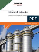 Refractory and Engineering Hot Blast Stoves En