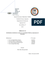 Trabajo de Hidraulica 2 en PDF Redes Hidraulicas
