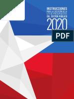 Instrucciones Para La Ejecución de La Ley de Presupuestos 2020