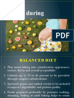 3rd year- Diet during pregnancy