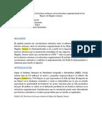 Articulo  Impacto de  factores externo en la estructura oganizacional en la Mype's en Nogales, Sonora.docx