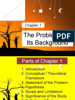Chapter 1 The Problem and Its Background wk 13