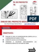 CUARTA SESIÓN DE TRABAJO DIBUJO DEL PROYECTO BÁSICO 2020-I-B