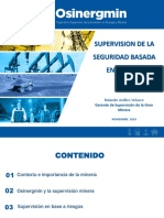OSINERGMIN Supervisión de infraestructura minera basada en riesgos x