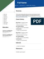 SEEK-resume-template-1