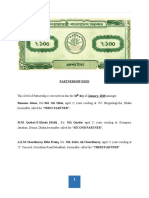 Assignment of PartnerShip Deed