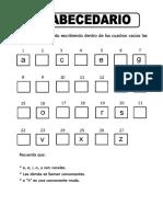 EL ABECEDARIO (19-05-2020)
