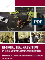 Regional Trauma Systems