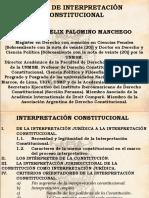 4. Interpretación Constitucional