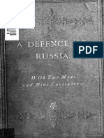 Collemarche Sinclair A Defence of Russia