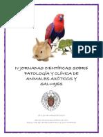 IV JJCC Sobre Patologia y Clinica de Animales Exoticos y Salvajes