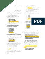 Varianta B - Restanta grile chirurgie