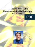 Universally Accessible Cheaper and Quality Medicines Act of