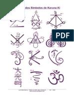 simbolos direccionales del reiki karuna