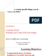 Chapter 2 - Learning styles