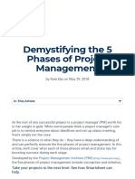 Demystifying the 5 Phases of Project Management _ Smartsheet