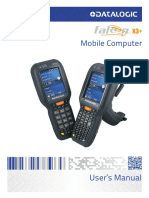 User Manual, Falcon X3+ with Windows Embedded Handheld