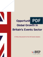 Opportunities for Global Growth in the Events Sector