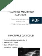 C3-Fracturile membrului superior
