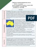 Fiche- Commonwealth d'Australie