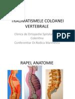 C9-Traumatismele coloanei vertebrale